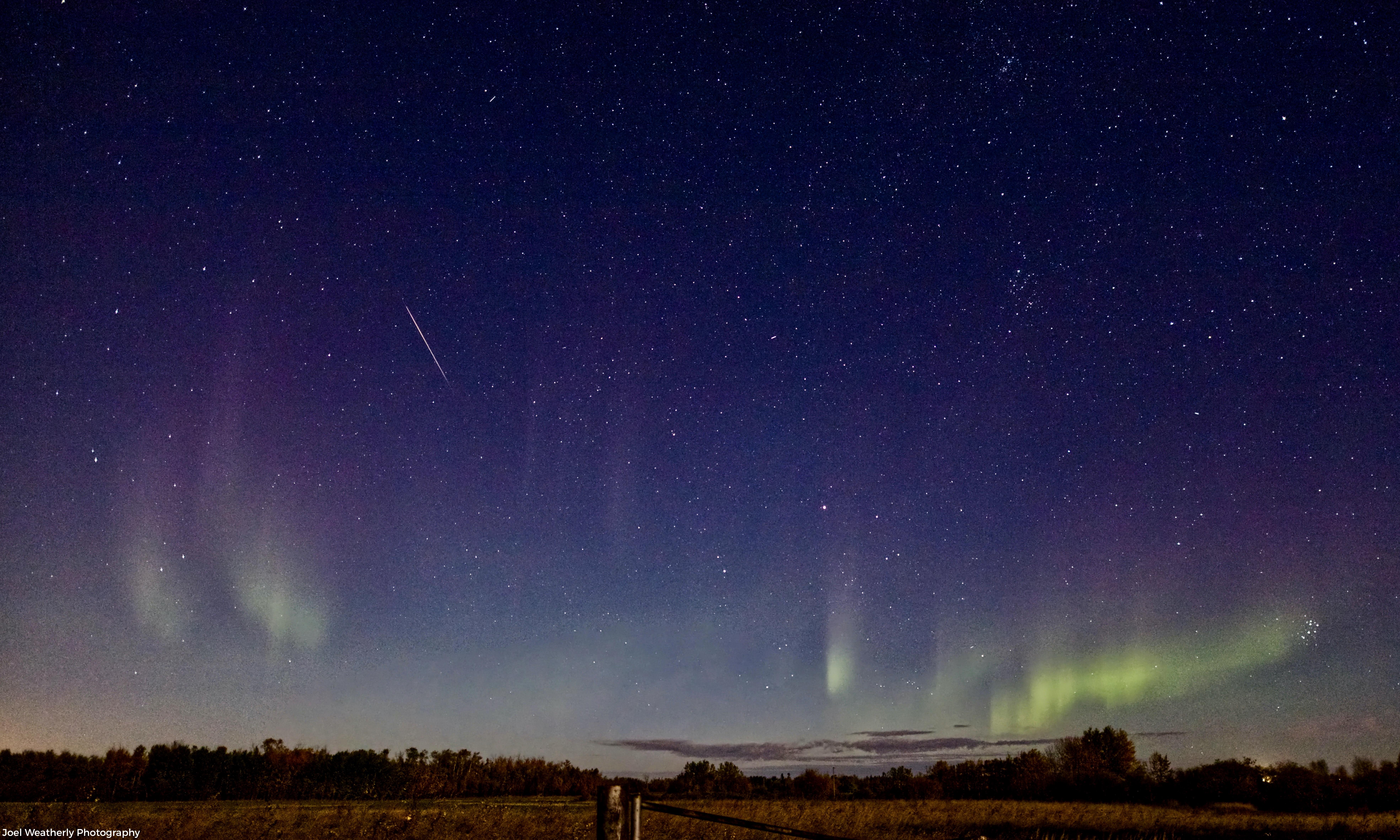 Meteor and Aurorae