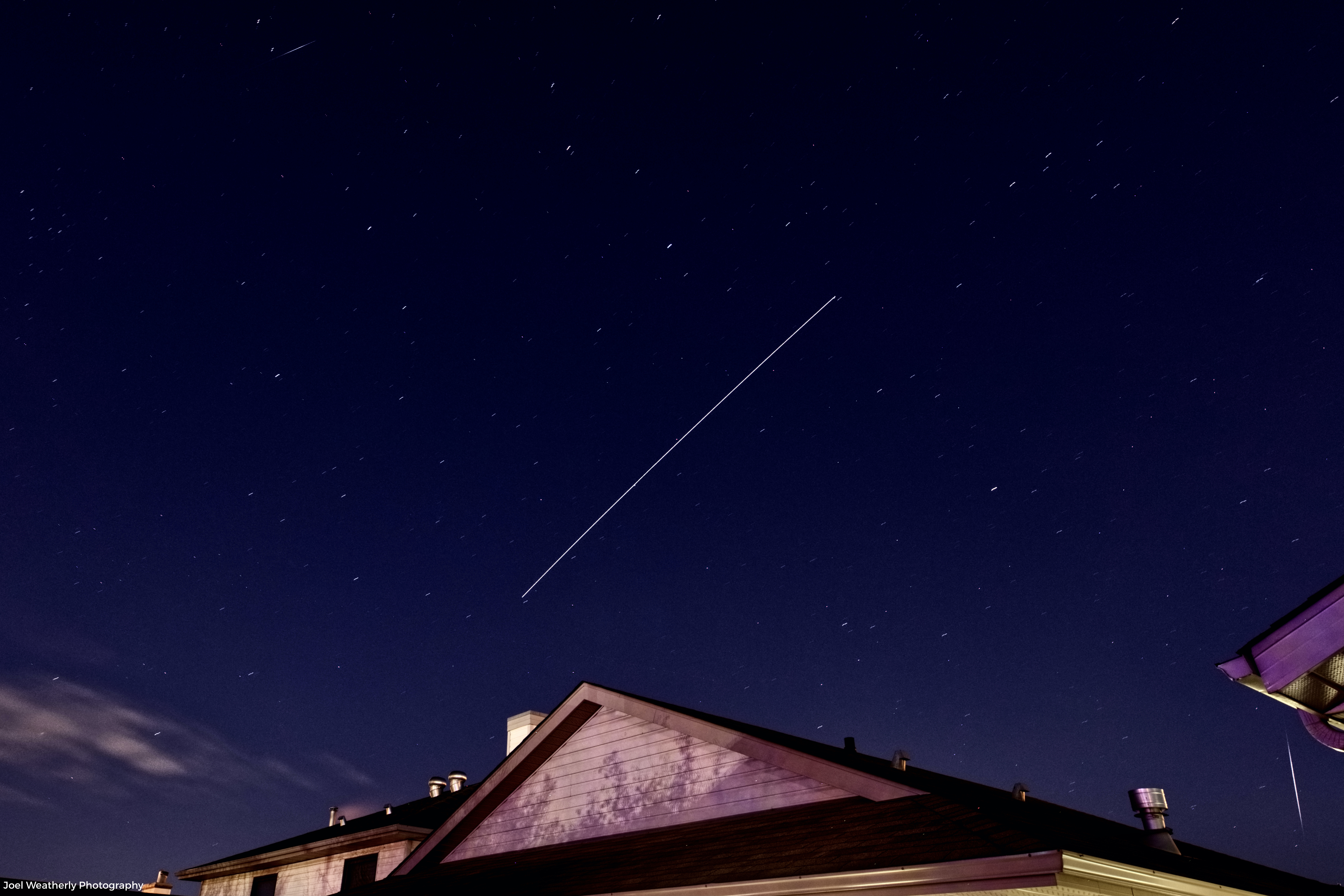 ISS with Meteor