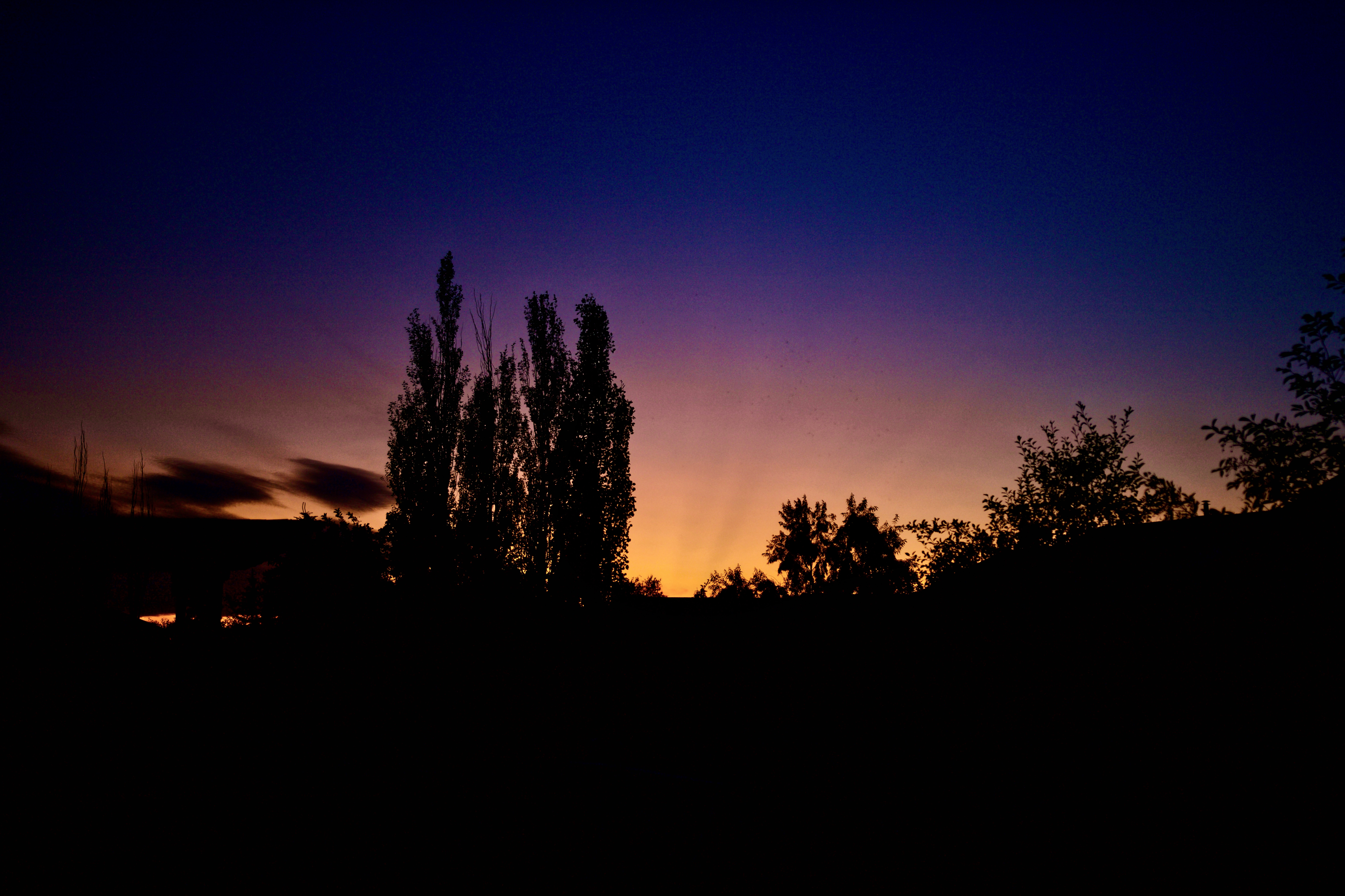 Volcanic Aerosols Sunset