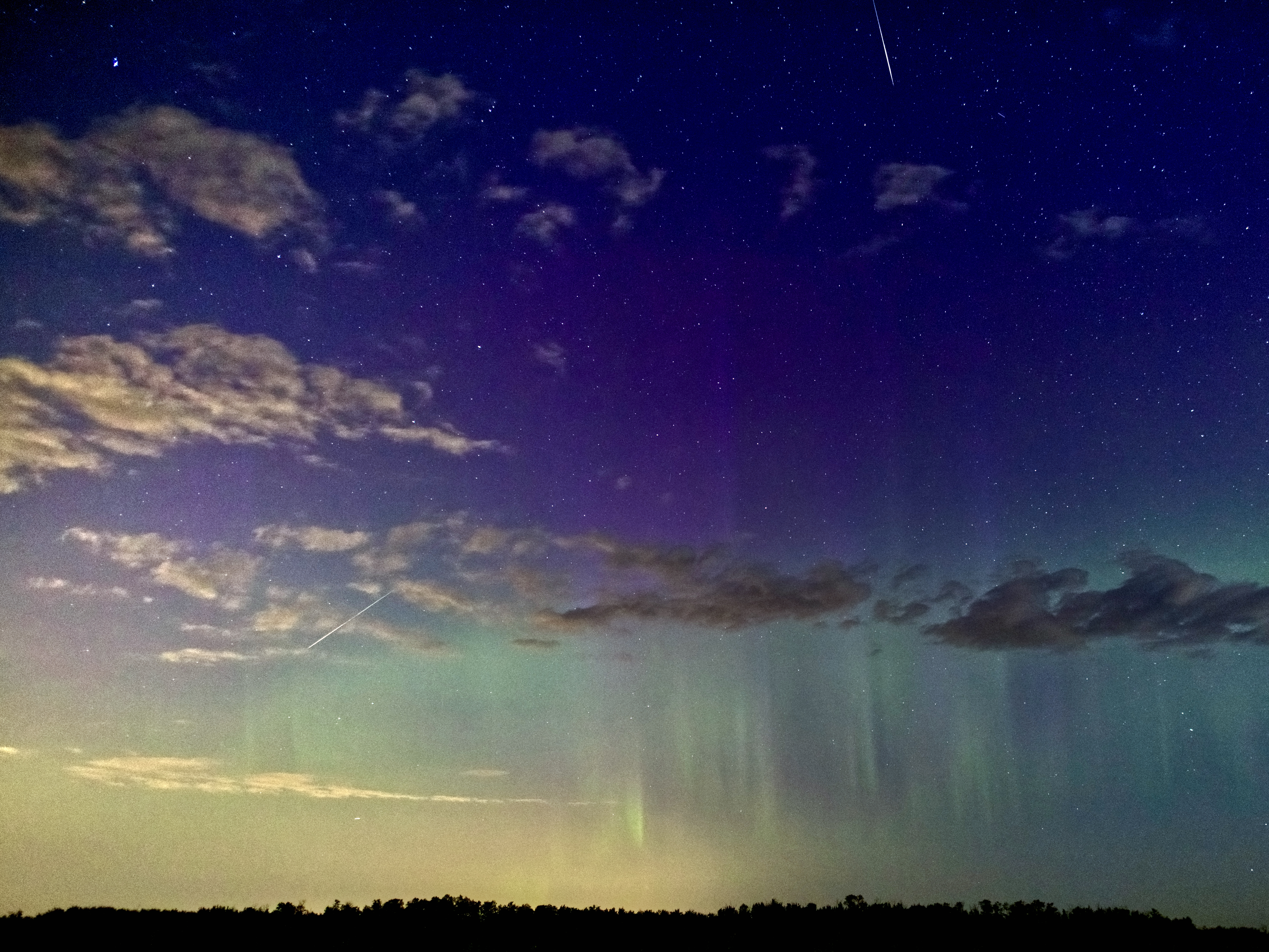 Meteors and Auroras